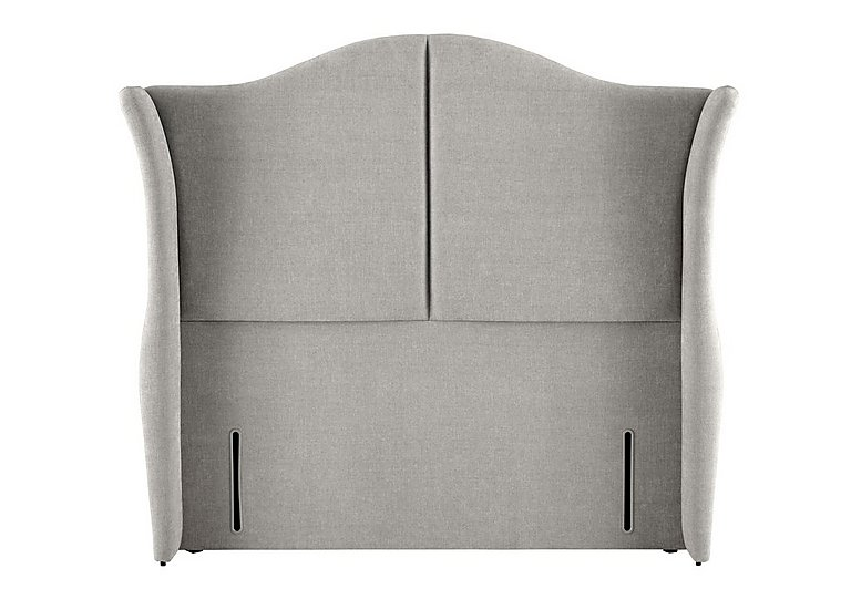 Wellesley Headboard in 350 Herringbone Grey on FV