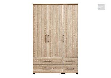 Amari 3 Door Gents Wardrobe  in {$variationvalue}  on FV