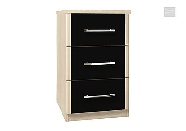 Kingsley 3 Drawer Narrow Chest  in {$variationvalue}  on FV