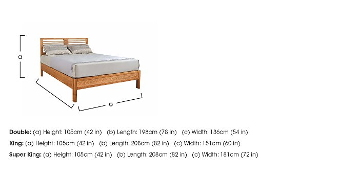 Baku Wooden Bedstead  in {$variationvalue}  on FV