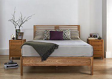 Baku Wooden Bed Frame in  on FV