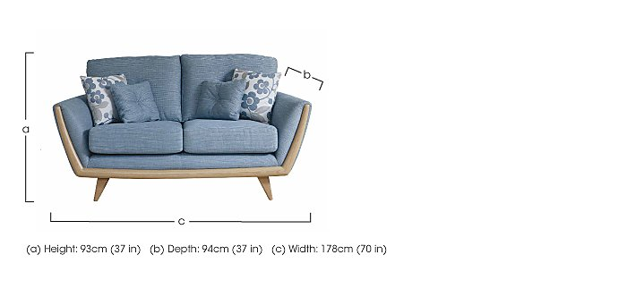 Scandi 2 Seater Sofa in  on FV