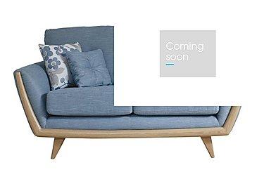 Scandi 2 Seater Sofa in Belman 253/153 Blue Grey on FV