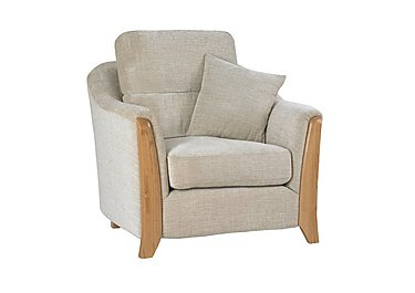 Ravenna Fabric Easy Chair in C415 Wood Finish on FV
