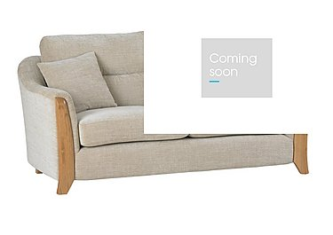 Ravenna 2 Seater Fabric Sofa in C415 Wood Finish on FV