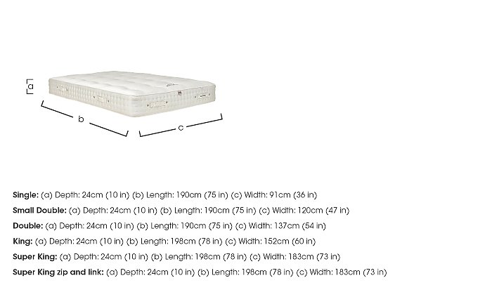 Boutique 1700 Pocket Sprung Mattress in  on FV