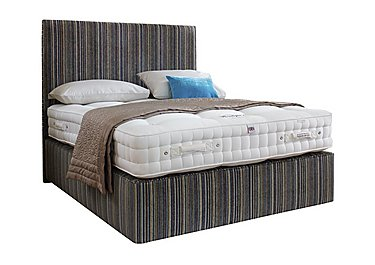 Boutique 2000 Divan Set in Gq Stripe Blue on FV