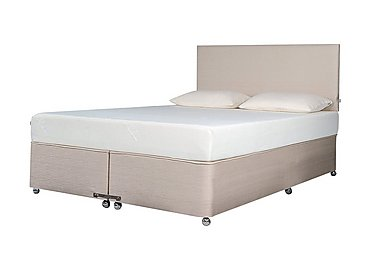 Ardennes Divan & 21cm Original Mattress Set in Biscuit on FV