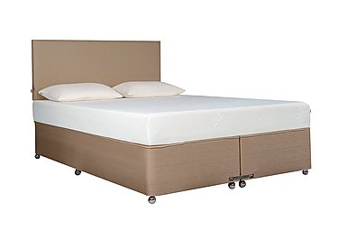 Ardennes Divan & 22cm Cloud Mattress in Biscuit on FV