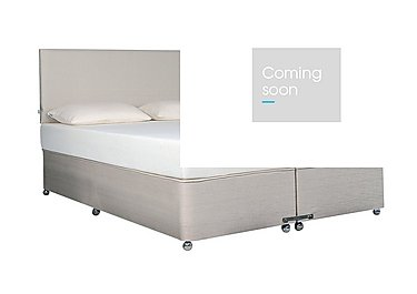 Ardennes Ottoman Bed & 27cm Original Mattress Set in Steel on FV