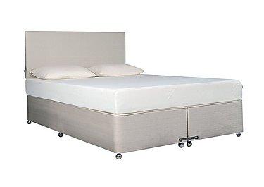Ardennes Ottoman Bed & 27cm Original Mattress Set in Steel on FV