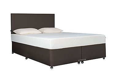 Ardennes Ottoman Bed & 27cm Sensation Mattress Set in Cobalt on Furniture Village