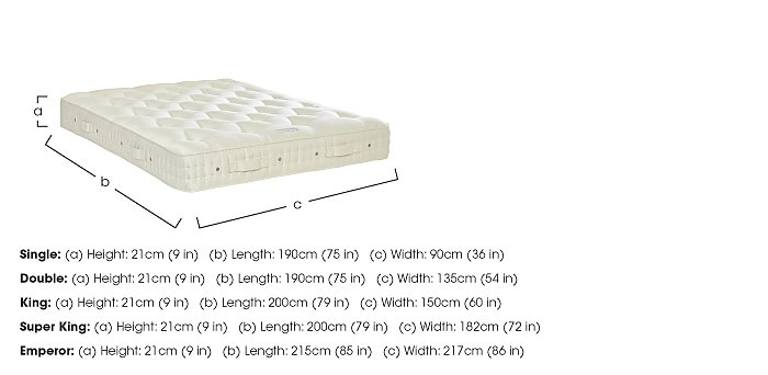 Baronet Superb Pocket Sprung Mattress in  on FV