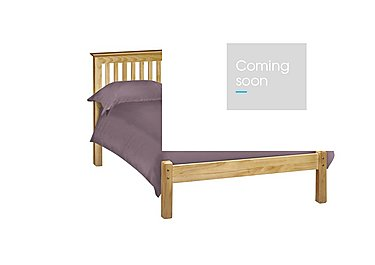 Chilton Pine Low Foot Bed Frame in  on FV