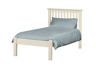 Chilton Stone White Low Foot Bedstead