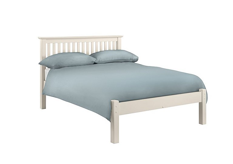 Chilton Stone White Low Foot Bed Frame