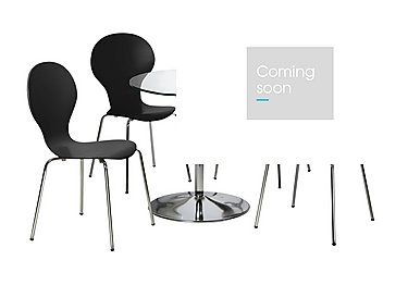 Spectra Table and 4 Chairs in Black on FV