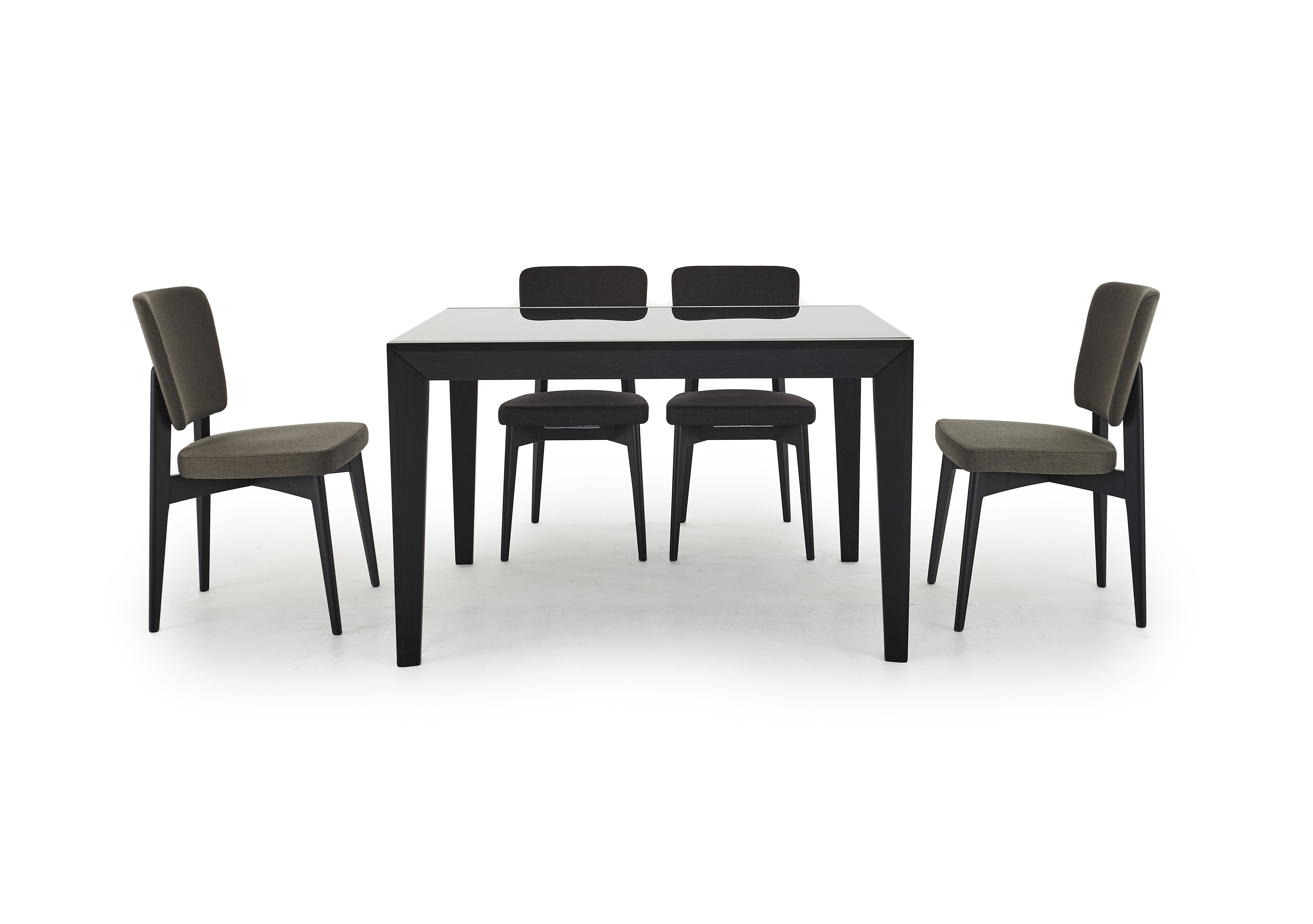 Furniture Village Delivery abaco extending table and 4 chairs - calligaris - furniture village