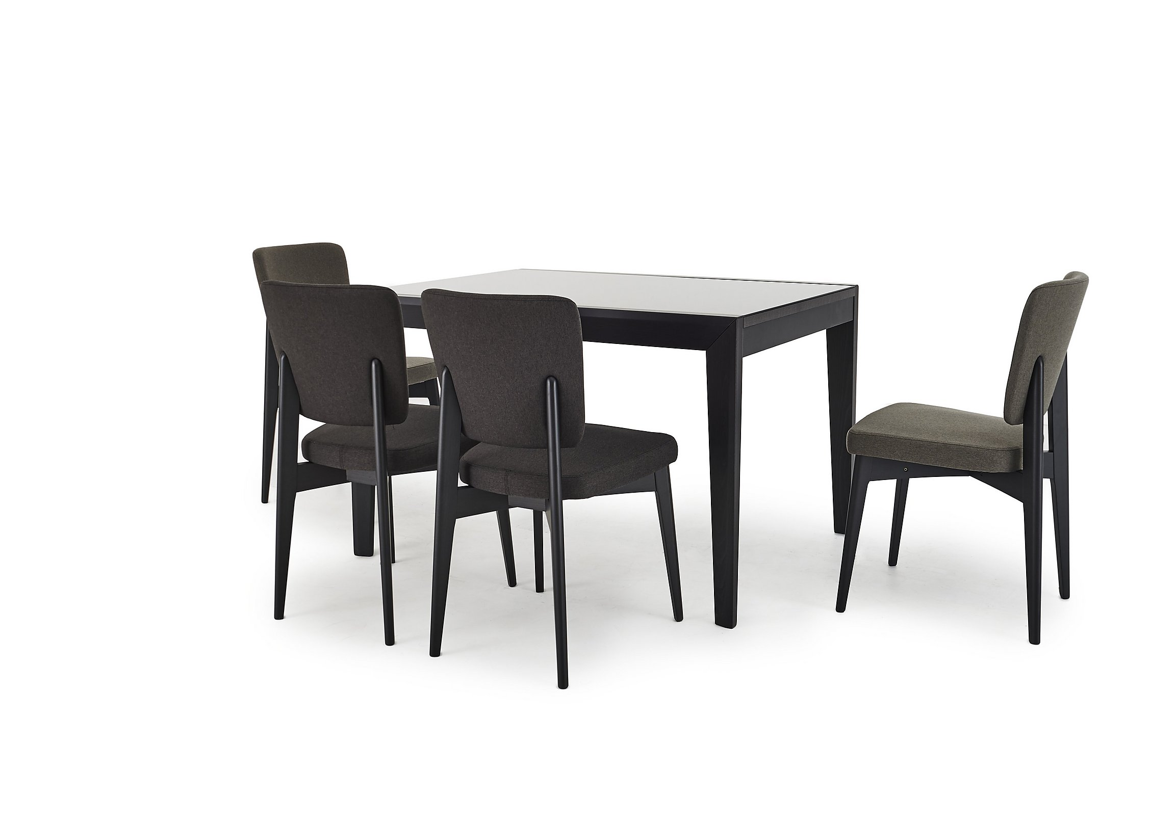 abaco extending table and  chairs  calligaris  furniture village - play
