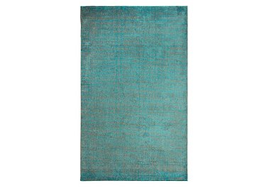 Atlantic Rug in Teal on Furniture Village