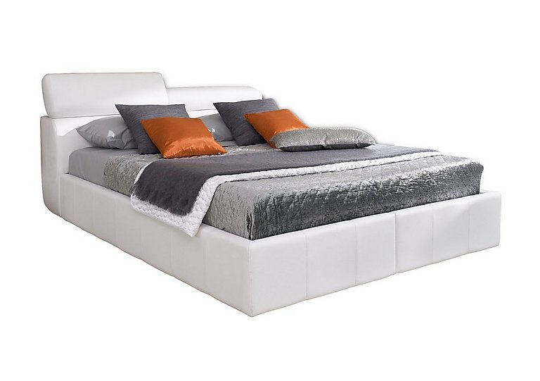 Babylon Bed Frame in White 1234 on FV