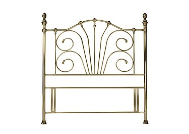 Rebecca Headboard in Antique Brass on FV