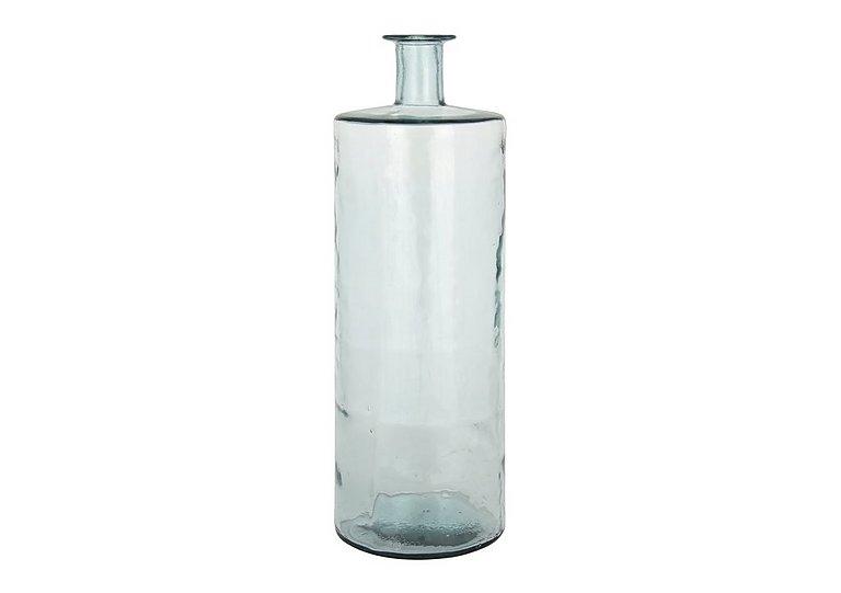Giant Bottle Vase in Clear on Furniture Village