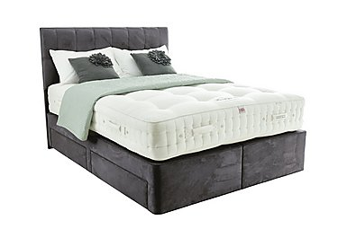 Boutique 2500 Pocket Sprung Divan Set in Danza Charcoal on FV