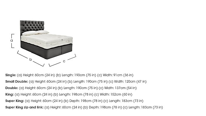 Boutique 2500 Pocket Sprung Divan Set in  on FV