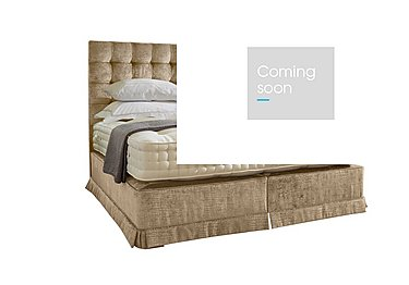 Boutique 3000 Divan Set in Dundee Stone 301 on FV