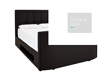 Chicago TV Bed in Black on FV