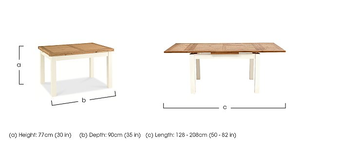 Compton Extending Drop Leaf Dining Table  in {$variationvalue}  on FV