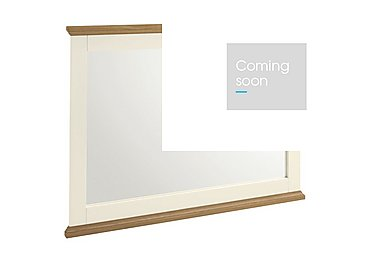 Compton Wall Mirror in Two Tone on FV