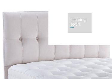 Dorchester Headboard in Suede Lace on FV