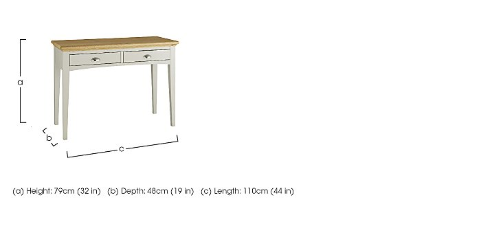 Emily Dressing Table in  on FV