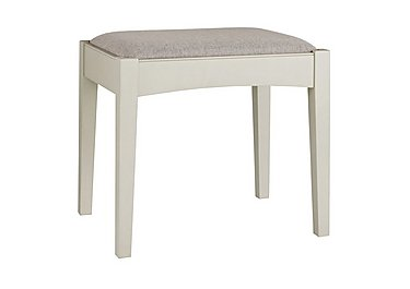 Emily Stool in Soft Grey And Oak on Furniture Village