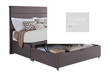Geltex Supreme 1400 Half Ottoman Bed in  on FV
