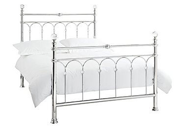 Isabella Bed Frame in Chrome Only on FV