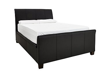 Liberty Ottoman Bed Frame in Black on Furniture Village