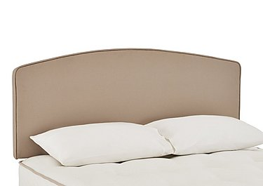 Millionaire Headboard in Caramel on Furniture Village