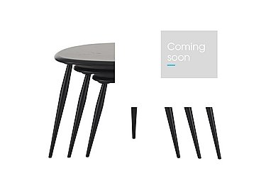 Originals Nest of Tables in Black   Bk on FV