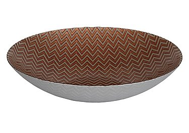 Coral Round Bowl