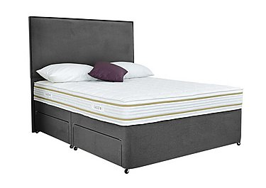 Select Comfort 1200 Divan Set in Smoke on FV