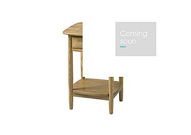 Windsor Lamp Table in Straw Finish (St) on FV