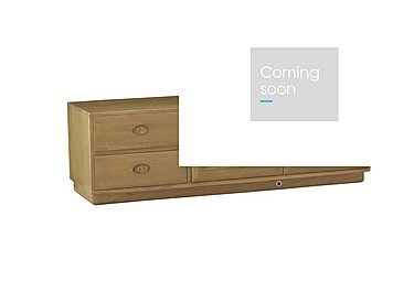 Windsor Wide IR TV Unit in Straw Finish (St) on FV