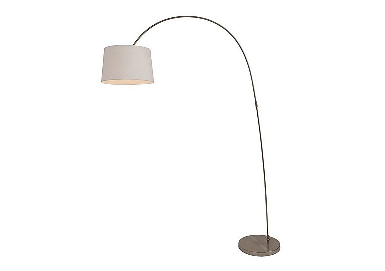 Zoran Floor Lamp in White on FV