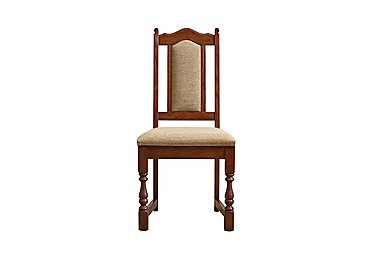 Old Charm Dining Chair in Chestnut Traditional on FV