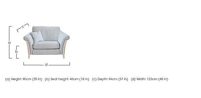 Triggiano Snuggler Chair  in {$variationvalue}  on FV