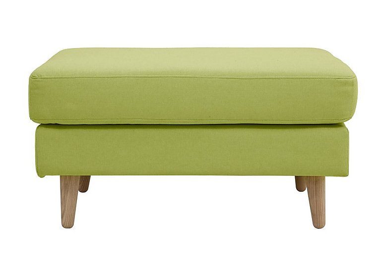 Alva Fabric Footstool in  on FV