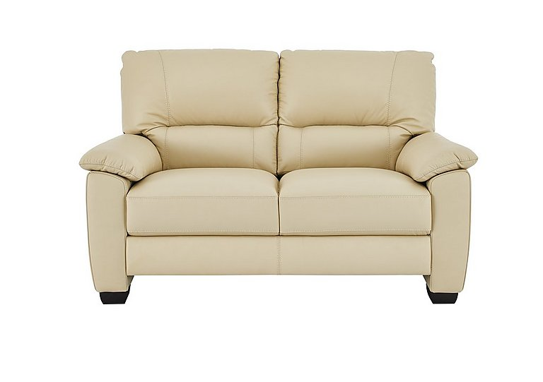 Apollo 2 Seater Leather Sofa in Bv-004c Bone on FV